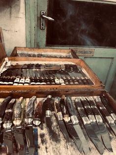 Csendélet az NN - Knives műhelyében...