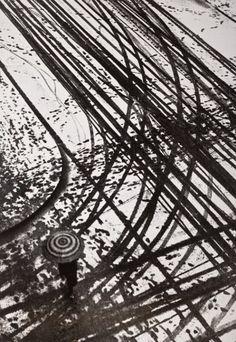 Anton Stankowski,   Tracks in Snow (Spuren Im Schnee), 1936 on ArtStack #anton-stankowski #art