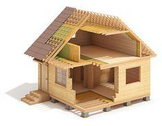 LHT wood-frame house construction