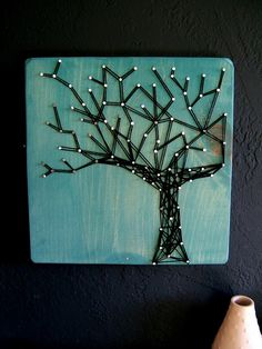 15 Beautiful Examples of String Art - Using Thread and Nails ...