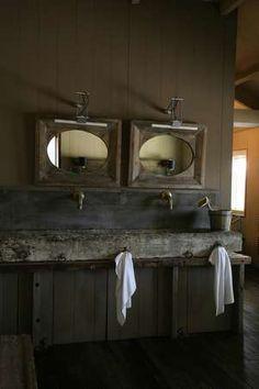 Double Stone Sink