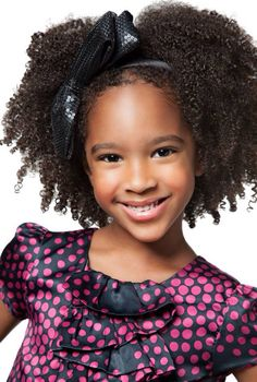 NATURAL HAIR STYLE FOR LITTLE GIRLS