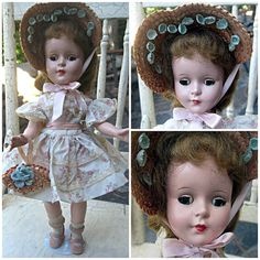Vintage 1950's doll walker head turns almost by LittleBeachDesigns, $84.00