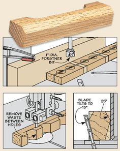 Handi's Workshop: Woodworking Tip of The Week - Shop-Made Pull