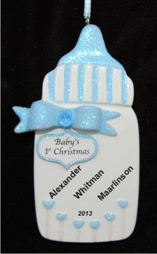 baby buggy boy blonde personalized first christmas ornament baby boy first christmas ornaments pinterest baby buggy christmas ornament and ornament - Baby Boy First Christmas Ornament