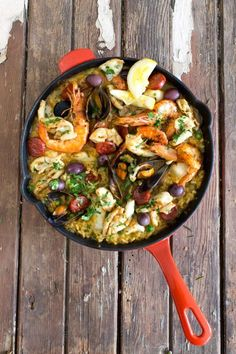 The perfect paella #yum #recipe