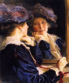 Lucy de Laszlo the Artists Wife 2 by Philip Alexius de Laszlo