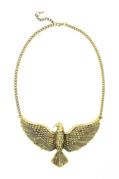Golden Phoenix Necklace by Eye Candy Los Angeles on @nordstrom_rack
