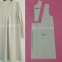 - Best Sewing Tips Dress Sewing Patterns, Blouse Patterns, Clothing Patterns, Pattern Cutting, Pattern Making, Sewing Hacks, Sewing Tutorials, Sewing Tips, Abaya Pattern