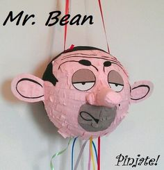 Mr BEAN pinata birthday gift birhtday and any other party Mr Bean Birthday, 7th Birthday, Birthday Gifts, Megan 4, Bmw Cake, Mr Bean Cartoon, Rowan, Beans, Birthdays