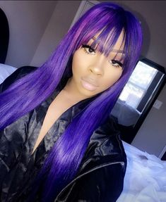 @Princess_Rese  Looks Amazing in this Purple Hair  ______ @dadollhouse  #NOTOURWORK