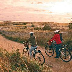 Best Coastal Bike Trails via CoastalLiving.com!