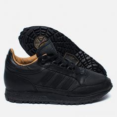 Мужские кроссовки adidas Originals Mounfield II Spezial Black/Sand. Article: BB0765. Year: 2016. Made in Indonesia.