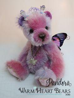 """6"""" original artisan bear from Warm Heart Bears"""