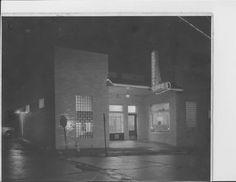 Rendezvous Cafe Pocahontas, AR. Corner of Pyburn and N. Van Bibber 1955