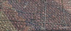 eixample aerial - Google Search City From Above, Valencia Spain, Famous Architects, Urban Planning, Aerial View, Grid, City Photo, Globe, How To Plan