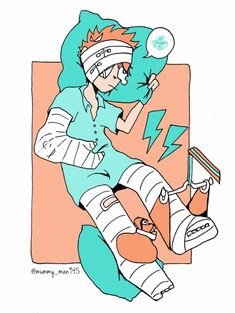 body cast Broken Arm Cast, Broken Leg, Full Body Cast, Doctor Images, Leg Cast, Family Guy, Legs, Anime, Fictional Characters