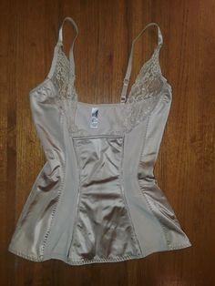 fedb77a8609 DKNY  631027 beige shapewear top size M EUC  fashion  clothing  shoes