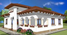 Romanian Traditional Houses – A Heartfelt Feeling Of Beauty - Houz Buzz Traditional House Plans, Traditional Interior, Dream House Plans, Design Case, Modernism, Exterior Design, My House, Fine Dining, Architecture Design