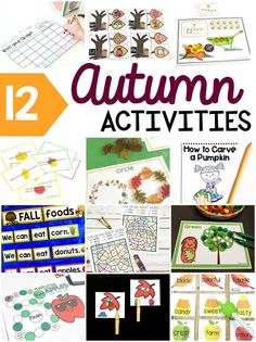 Try these fun fall activities for kids to make learning fun in the fall! #handsonlearning #activitiesforkids #fallactivities