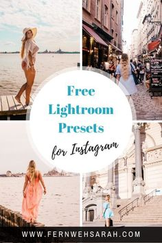Pin Free Lightroom Presets by Fernwehsarah 3 How To Use Lightroom, Lightroom Tutorial, Lightroom Gratis, Lightroom Presets, Vsco Presets, Digital Photography, Photography Tips, Iphone Photography, Photography Classes