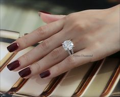 Round Diamond Engagement Ring 7.37 carat G color Loupe-clean