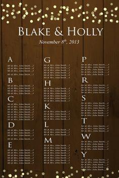 Wedding Seating Chart Sign//Rustic Barnwood Confetti Polka Dot Wedding Seating Chart/Country Wedding/Printed or – Wedding Planning Organization Rustic Wedding Seating, Seating Chart Wedding, Seating Charts, Friend Wedding, Our Wedding, Dream Wedding, Wedding Country, Wedding Ideas, Polka Dot Wedding