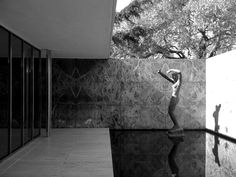 Barcelona Pavilion by Ludwig Mies van der Rohe