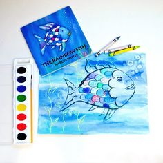 Rainbow Fish Craft For Toddlers