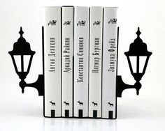 Love these bookends!