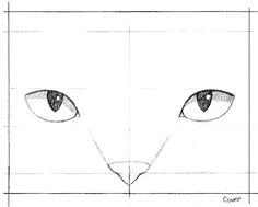 """""""A close-up of Blucy's face was a perfect composition for the cover illustration, and so a tight pencil line-drawing was created for it."""" -- Erika LeBarre www.facebook.com/BlucyTheBlueCat Blue Cats, Erika, Line Drawing, Close Up, Composition, Pencil, Facebook, Drawings, Cover"""