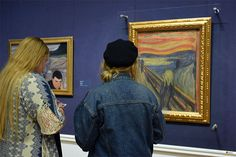 El Grito de Munch. Galería Nacional. Oslo / The Scream of Munch. National Gallery Oslo, National Gallery, Scream, Hipster, Painting, Fashion, The Neighborhood, Moda, Hipsters