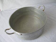 Vintage Aluminium Pot  - 1960's - Kitchen decor - home - home decor - women