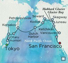 Glacial Grandeur Map