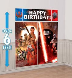 Star Wars Episode VII The Force Awakens Party Game 10pc - Party City