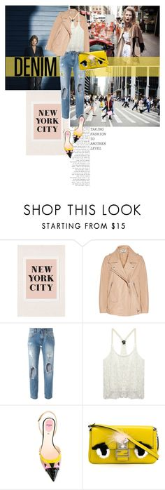 """""""The City Seen For the First Time"""" by glamrockandlove ❤ liked on Polyvore featuring Acne Studios, Dolce&Gabbana, Wet Seal, Fendi, women's clothing, women, female, woman, misses and juniors"""