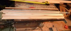 Building a Cedar Strip Canoe: The Details: Making the Stems