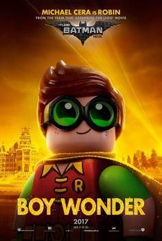 The LEGO Batman Movie Michael Cera Poster