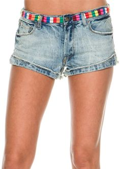 FREE PEOPLE ELIOT EMBROIDERED SHORT Image
