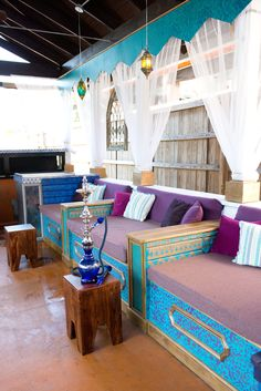 #moroccan #decor Priya Hookah Bar and Lounge Charleston SC by JLV Creative