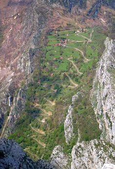 Subida a Casielles, Asturias (España)