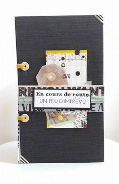 Coucou, Aujourd'hui je viens vous montrer un mini album réalisé par Daniella. Daniella a utilisé les nouveaux coins ajourés rayés, et choisi de relier son album à l'aide d'un élastique plat. ...