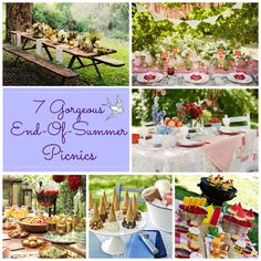 Labor Day Picnic: 17 Gorgeous End-Of-Summer Picnic Ideas! http://www.marysvillelib.org/home