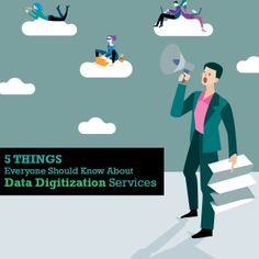Data digitization services refer to converting data present in physical form into electronic records that contain relevant and required information.