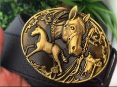 Cinto Preto Horse