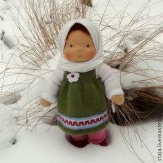 Вальдорфская игрушка ручной работы. Ярмарка Мастеров - ручная работа Хорошая девочка. Handmade.