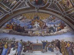 La chapelle sixtine au vatican les anges de l 39 apocalypse - Fresque du plafond de la chapelle sixtine ...