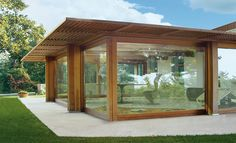 Open your Roof  #veranda #glass #window #frames #house #architecture #design