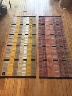 Gorgeous recycled fire hose runners in assorted colors. Onemercantile.com