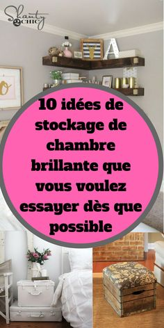 20 Ideas for diy facile rangement chambre Small Lounge Rooms, Tiny Living Rooms, Diy Headboard With Lights, Diy Kitchen Shelves, Small Wall Mirrors, Diy Organisation, Diy Home Decor Bedroom, Paint Colors For Living Room, Room Paint